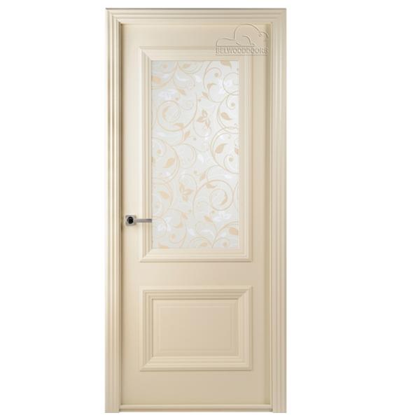 """Межкомнатная дверь Belwooddoors ПО """"Франческа"""" Ш (слоновая кость)"""