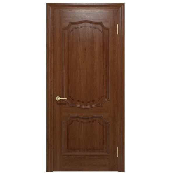 """Межкомнатная дверь Ваш Стиль ПГ """"Луидор"""" (темный орех)"""