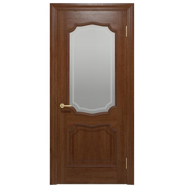 """Межкомнатная дверь Ваш Стиль ПО """"Луидор"""" (темный орех)"""