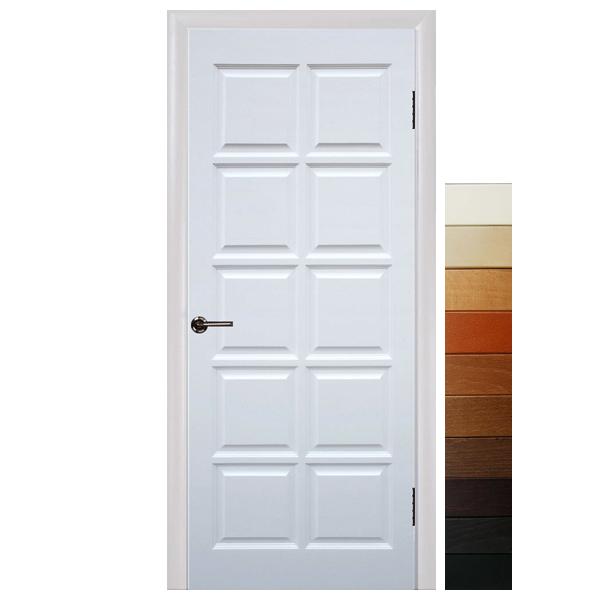 """Межкомнатная дверь Чернигов ПГ """"Шоколад"""" (массив сосны)"""