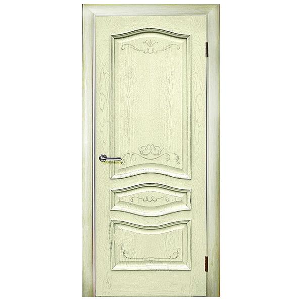 """Межкомнатная дверь Green Plant ПГ """"Леона"""" (ваниль)"""