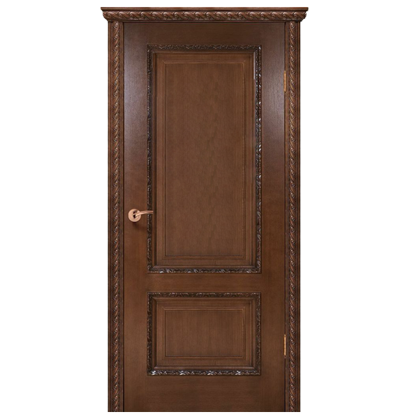 """Межкомнатная дверь Green Plant ПГ """"Комплеана"""" (орех люкс)"""