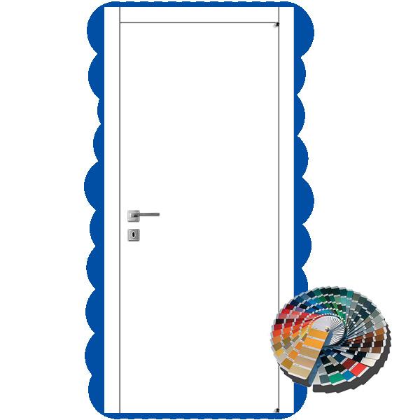 Межкомнатная дверь Ваши Двери А-1 (белая)
