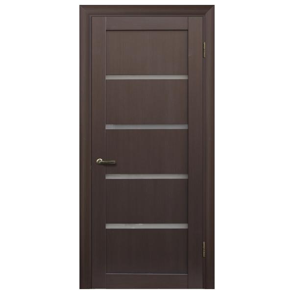 """Межкомнатная дверь Халес укр. """"Модель L-1"""" (венге)"""