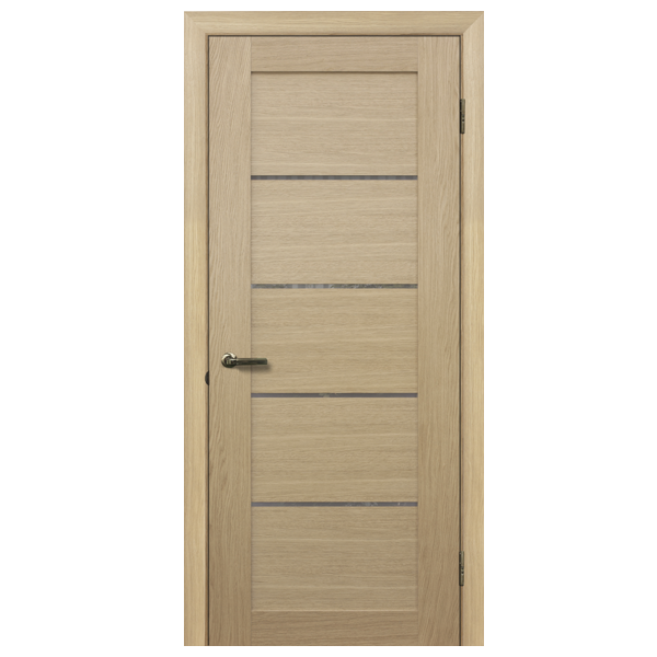 "Межкомнатная дверь Халес укр. ""Модель L-3.M"" (дуб)"