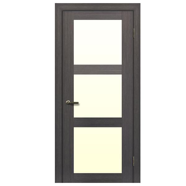 """Межкомнатная дверь Халес укр. """"Модель L-6"""" (венге азуро)"""