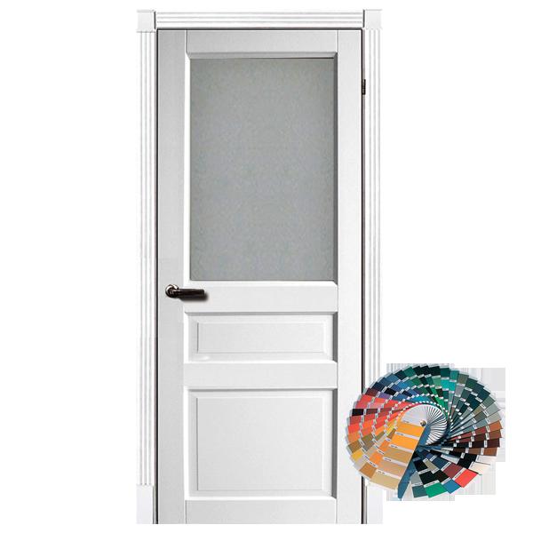 Межкомнатная дверь Ваши Двери Лондон ПО (белая)