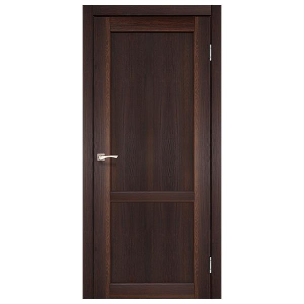 Межкомнатная дверь Корфад PL-01 (орех)