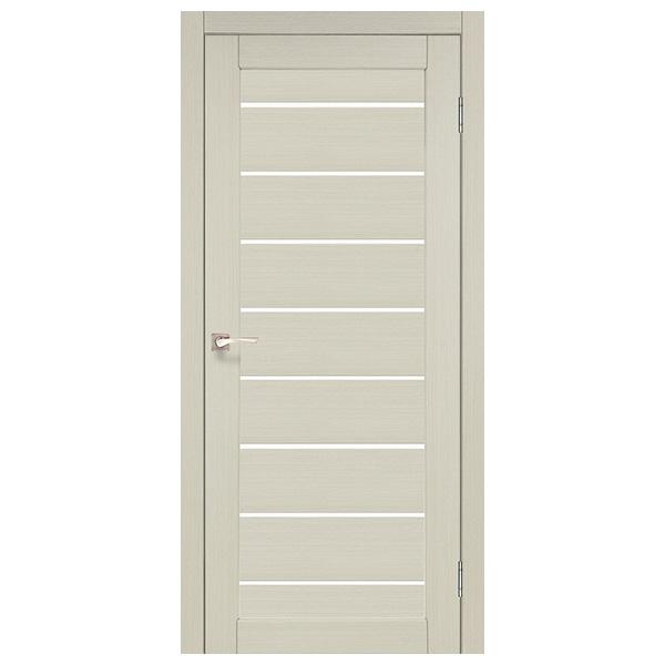 Межкомнатная дверь Корфад PND-01 (выбеленный дуб)