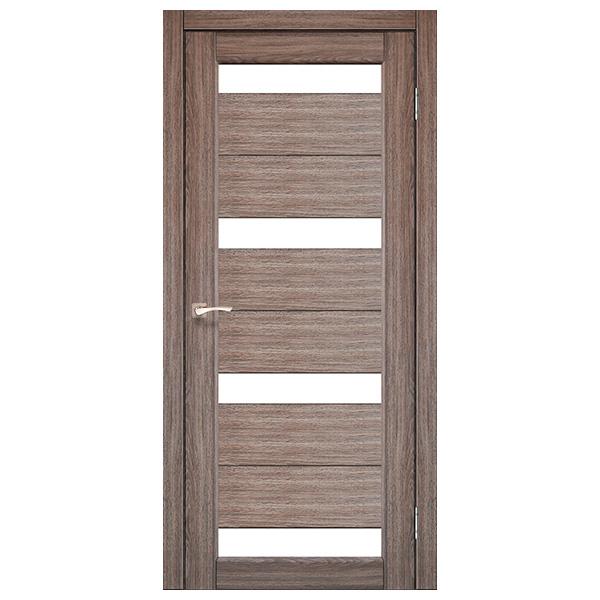 Межкомнатная дверь Корфад PR-06 (дуб грей)
