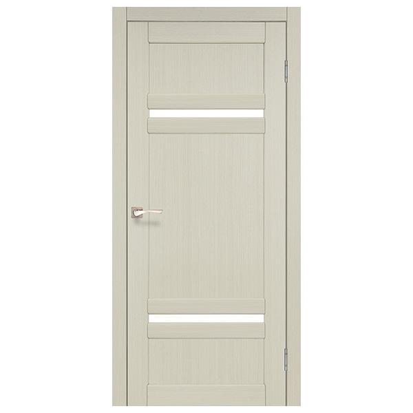 Межкомнатная дверь Корфад TV-03 (выбеленный дуб)