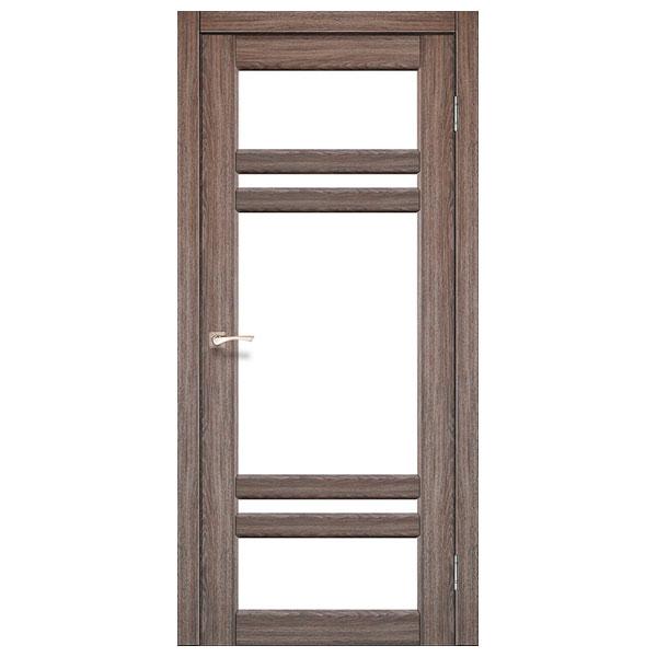 Межкомнатная дверь Корфад TV-06 (дуб грей)