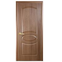 Межкомнатная дверь Новый Стиль Фортис овал (золотая ольха)