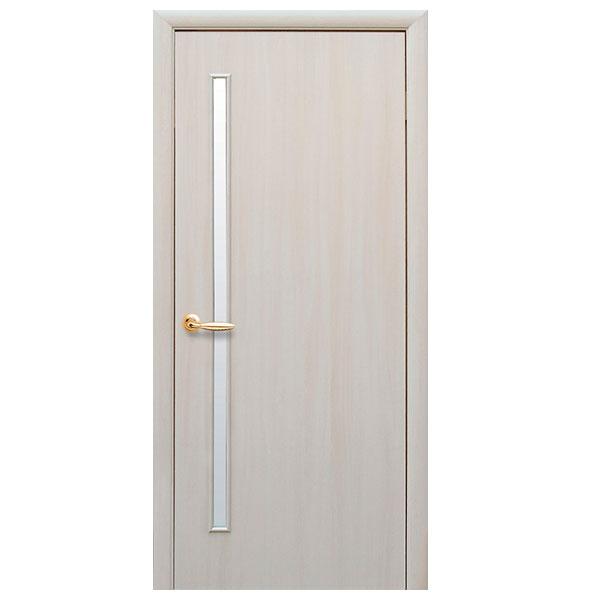 Межкомнатная дверь Глория (дуб жемчужный)