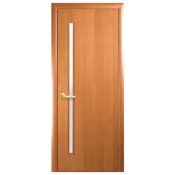 Межкомнатная дверь Новый Стиль Глория (ольха 3D)
