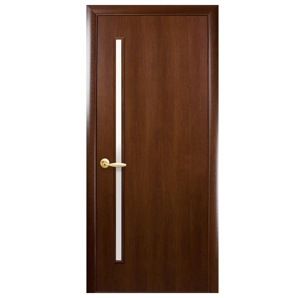 Межкомнатная дверь Новый Стиль Глория (орех 3D)