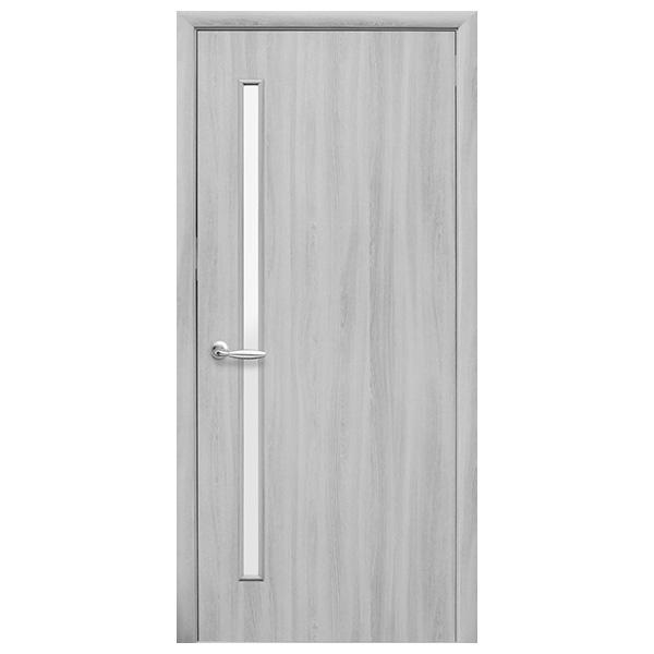 Межкомнатная дверь Новый Стиль Глория (ясень патина)