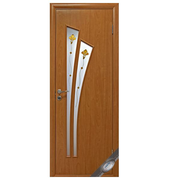 """Межкомнатная дверь Новый Стиль """"Лилия Р"""" (ольха 3D)"""