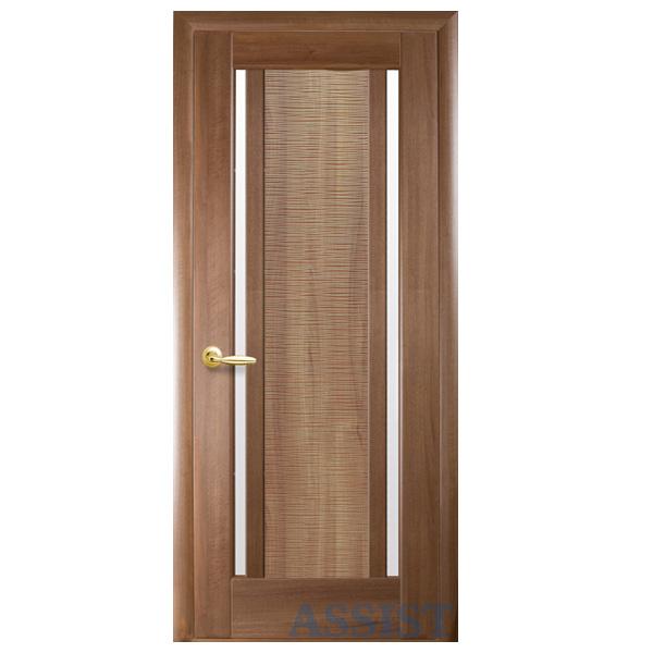 Межкомнатная дверь Новый Стиль Луиза (золотая ольха)