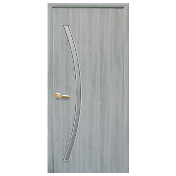 Межкомнатная дверь Новый Стиль Дива (ясень патина)