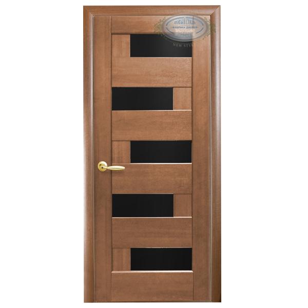 """Межкомнатная дверь Новый Стиль """"Пиано BL"""" (золотая ольха)"""
