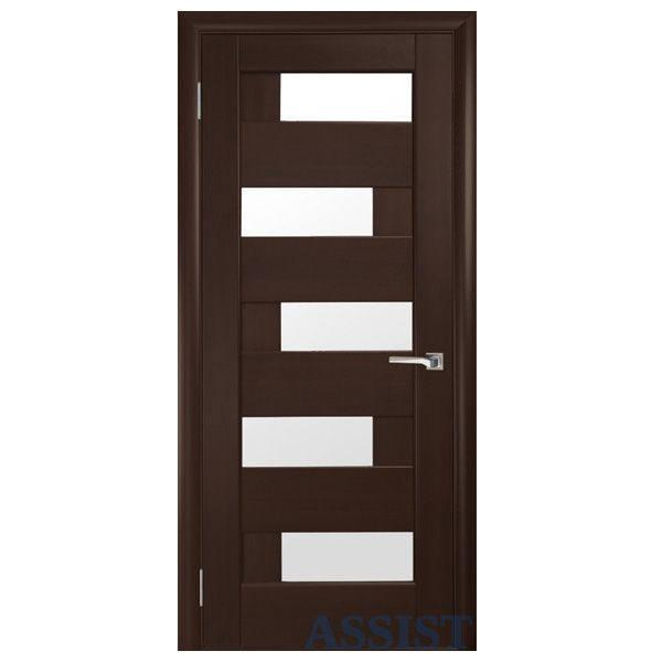 Межкомнатная дверь Омис Домино ПО (каштан)