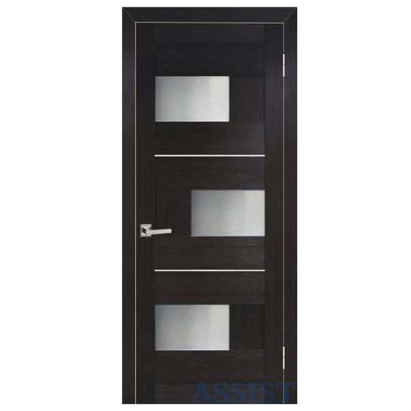 Межкомнатная дверь Омис Куб ПО (венге )