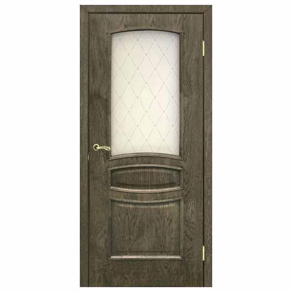 Межкомнатная дверь Омис Венеция ПО (дуб шервуд)