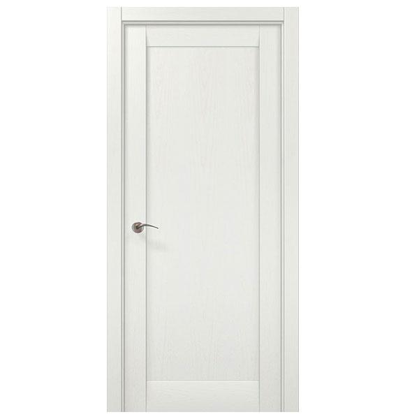 """Межкомнатная дверь Папа Карло """"ML 00F"""" (ясень белый)"""
