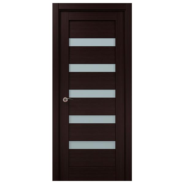 Межкомнатная дверь Папа Карло ML-02 (венге)