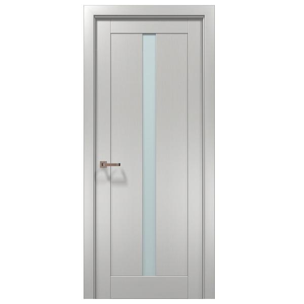 "Межкомнатная дверь Папа Карло ""Optima 01"" (клен белый)"
