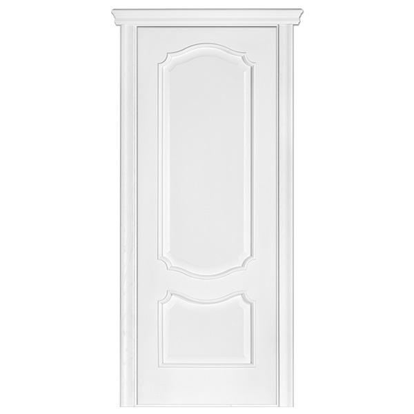 """Межкомнатная дверь Терминус ПГ """"Caro модель 41"""" (ясень белая эмаль)"""