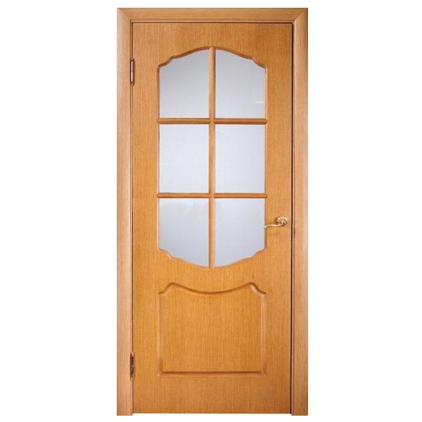 """Межкомнатная дверь Винница ПО """"Карина"""" (дуб)"""