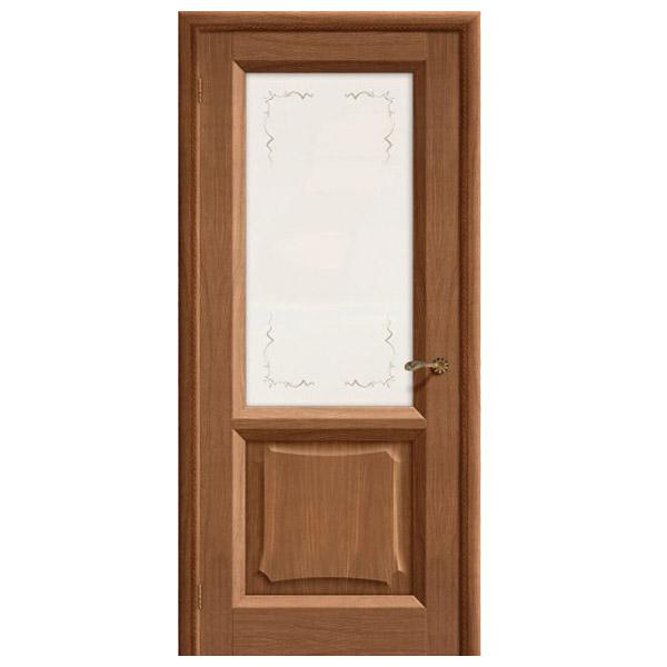 Межкомнатная дверь Винница Ника ПО (мокко)