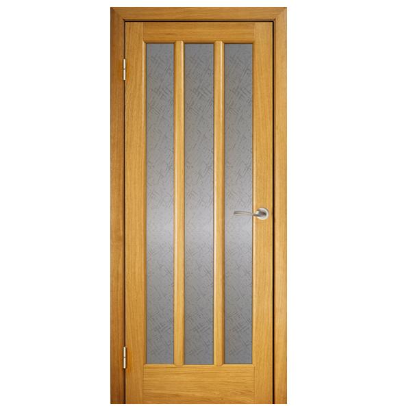 Межкомнатная дверь Винница Трояна ПОО (дуб)