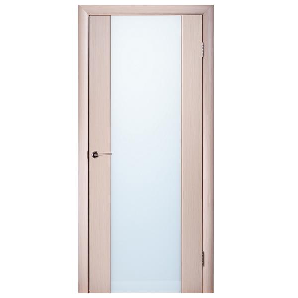 Межкомнатная дверь Woodok Глазго ПО (выбеленный дуб)