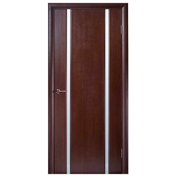 """Межкомнатная дверь Woodok  """"Глазго 2"""" (венге)"""