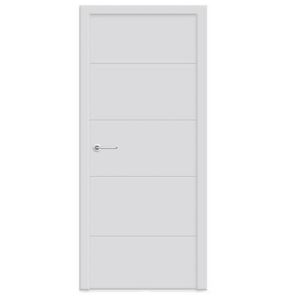 """Межкомнатная дверь Woodok ПГ """"Стайл 4"""" (белый)"""