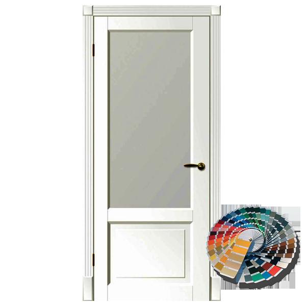 Межкомнатная дверь Woodok Тесоро К1 ПО (любой по RAL)