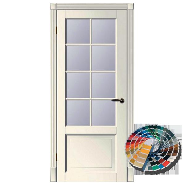 Межкомнатная дверь Woodok Тесоро К1 решетка ПО (любой по RAL)