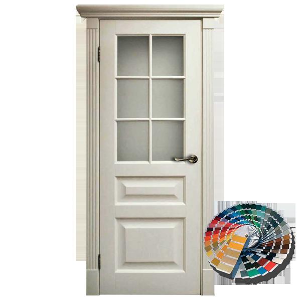Межкомнатная дверь Woodok Тесоро К2 ПО решетка (любой по RAL)