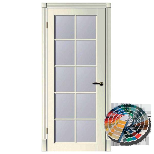 Межкомнатная дверь Woodok Тесоро К3 ПО решетка (любой по RAL)
