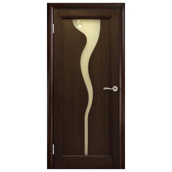 Межкомнатная дверь Woodok Ручеек ПО (венге)