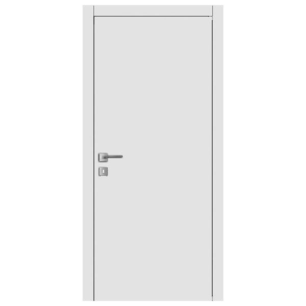 Межкомнатная дверь Woodok Щитовое (белая эмаль)
