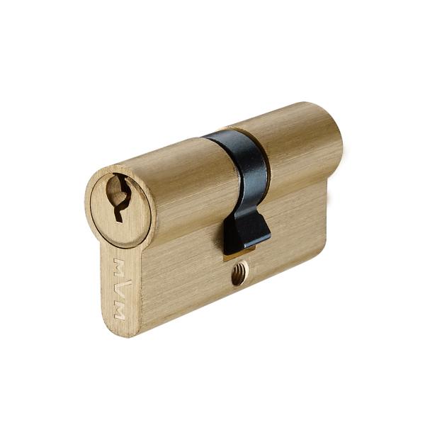 Цилиндр для дверей P6E30/30 SB (золото)