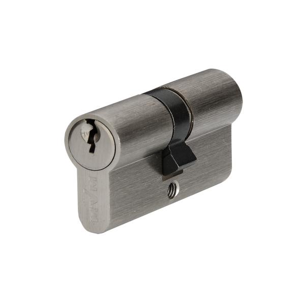 Цилиндр для дверей P6E30/30 SN (хром)