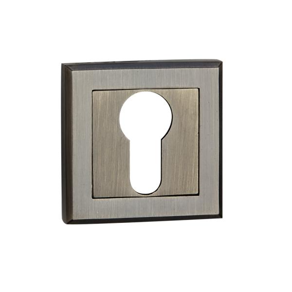 Накладка дверная под цилиндр E8 АВ (бронза)