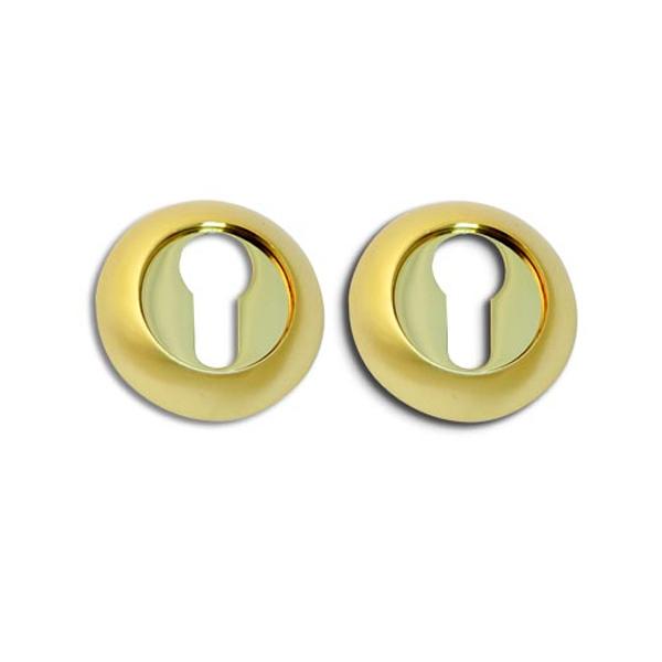 Накладка цилиндровая APECS DP-C-05-G (золото)