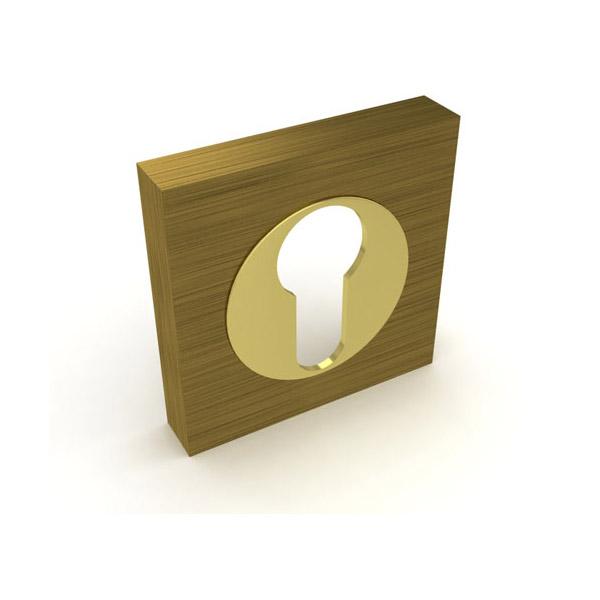 Накладка на ключ Fuaro AB/GP (бронза)