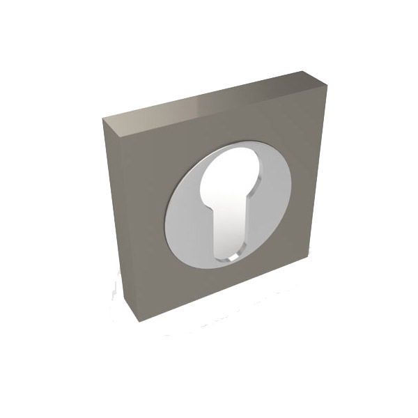 Накладка на ключ Fuaro SN/CP (хром)